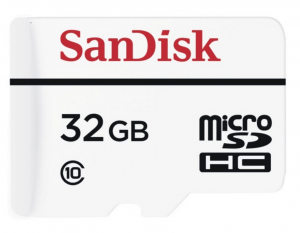 SanDisk High Endurance Video Monitoring 32GB Speicherkarte