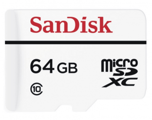 SanDisk High Endurance Video Monitoring 64GB Speicherkarte