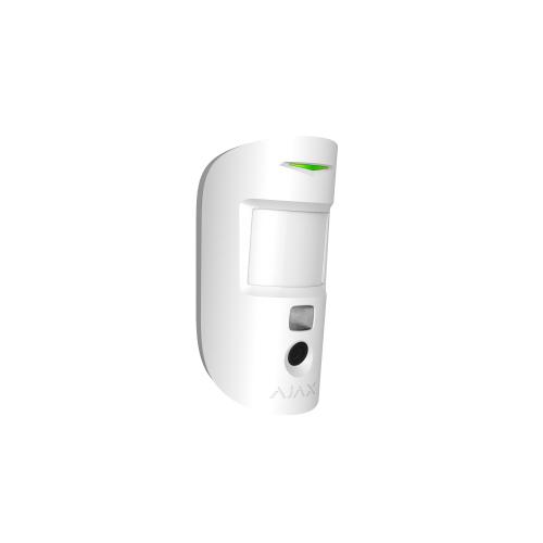Ajax MotionCam Bewegungsmelder mit Fotokamera zur Verifizierung von Alarmen in Farbe weiß