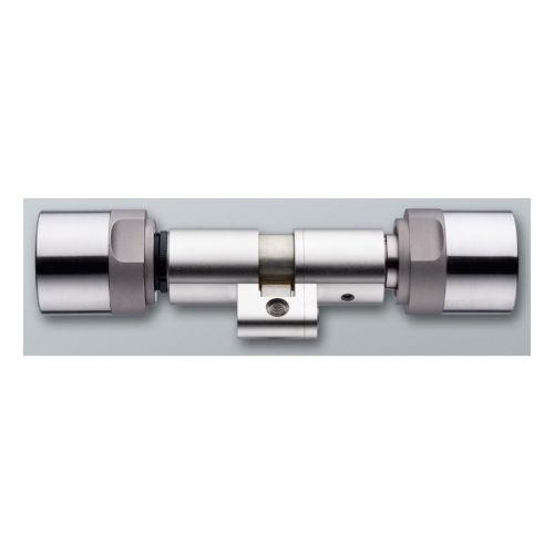 SimonsVoss SI.Z4.SR.65-75.MI.CO Digitaler Swiss Round Doppel- Knaufzylinder
