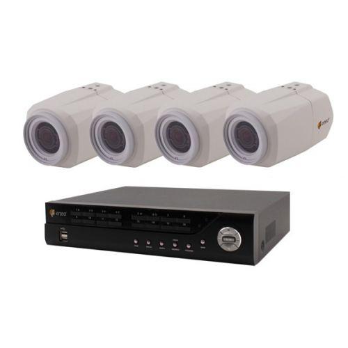 ENEO HDTVI Video Überwachungsset 4 Kanal 2MP Full HD Indoor