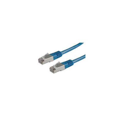 ROLINE S/FTP Patchkabel Kat. 5e blau 0,5m-20m