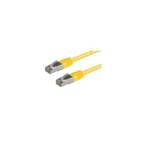 ROLINE FTP Patchkabel konf. Kat. 5e gelb 0,5m-20m