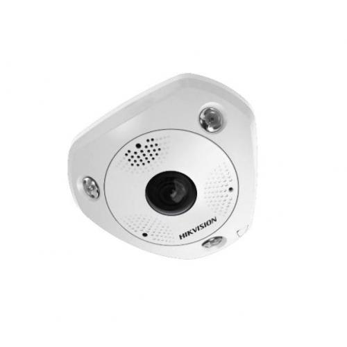 HIKVision DS-2CD6365G0-IVS(1.27mm) IP Hemispheric Fisheye Dome Kamera 6MP Full HD Outdoor