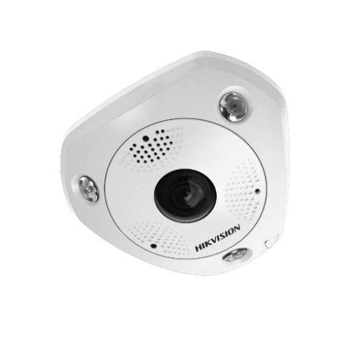 HIKVision DS-2CD63C5G0E-IVS(2mm)(B) IP Hemispheric Fisheye Dome Kamera 12MP Ultra HD Outdoor