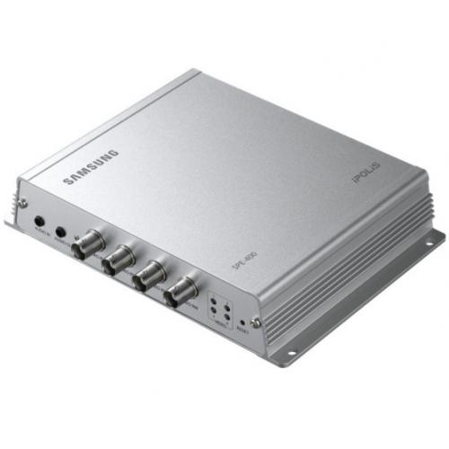 Hanwha Techwin Video Encoder SPE-400P 4-Kanäle