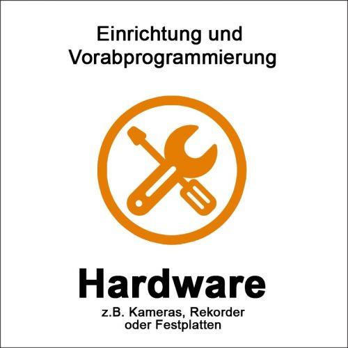 Hardware Einrichtung und Vorabprogrammierung gekaufter Produkte