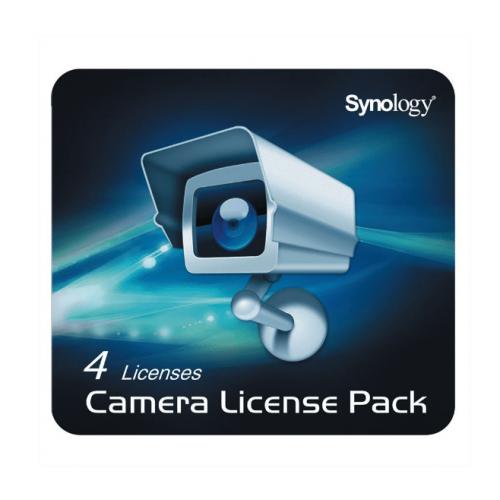 SYNOLOGY DEVICE LICENSE (X 4) Kamera Lizenz Paket