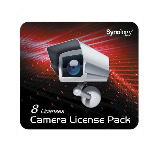 SYNOLOGY DEVICE LICENSE (X 8) Kamera Lizenz Paket