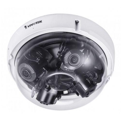 VIVOTEK SUPREME MA9321-EHTV IP Dome Kamera 20 MP Ultra HD Outdoor 4 unabhängige Sensoren mit je 5MP