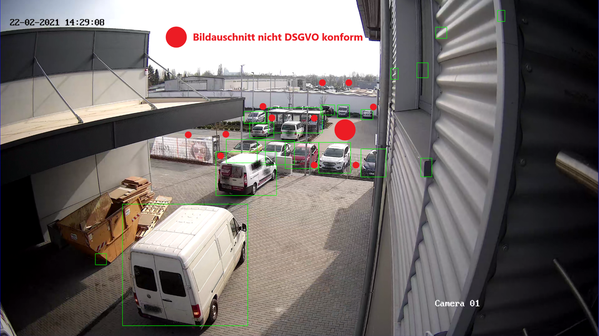 Videoüberwachung  DSGVO konform und professionell von ESA GmbH German Protect einfach erklärt.