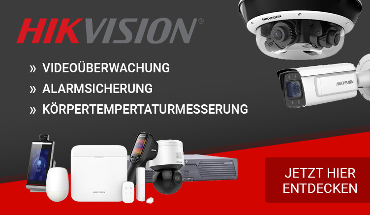 Über 3.500 Hikvision Sicherheitsprodukte auf Germanprotect.com entdecken