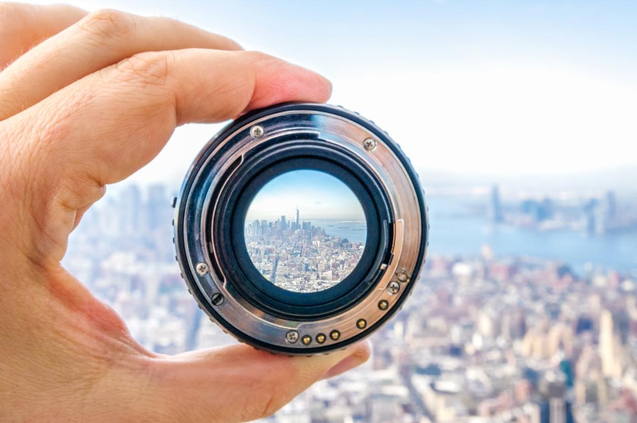 Überwachungskamera Objektiv