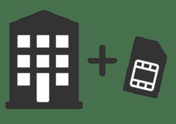 Privatkunden: Sicherheitspaket für die Aufschaltung IP/GSM auf die Leitstelle inklusive GSM-Karte