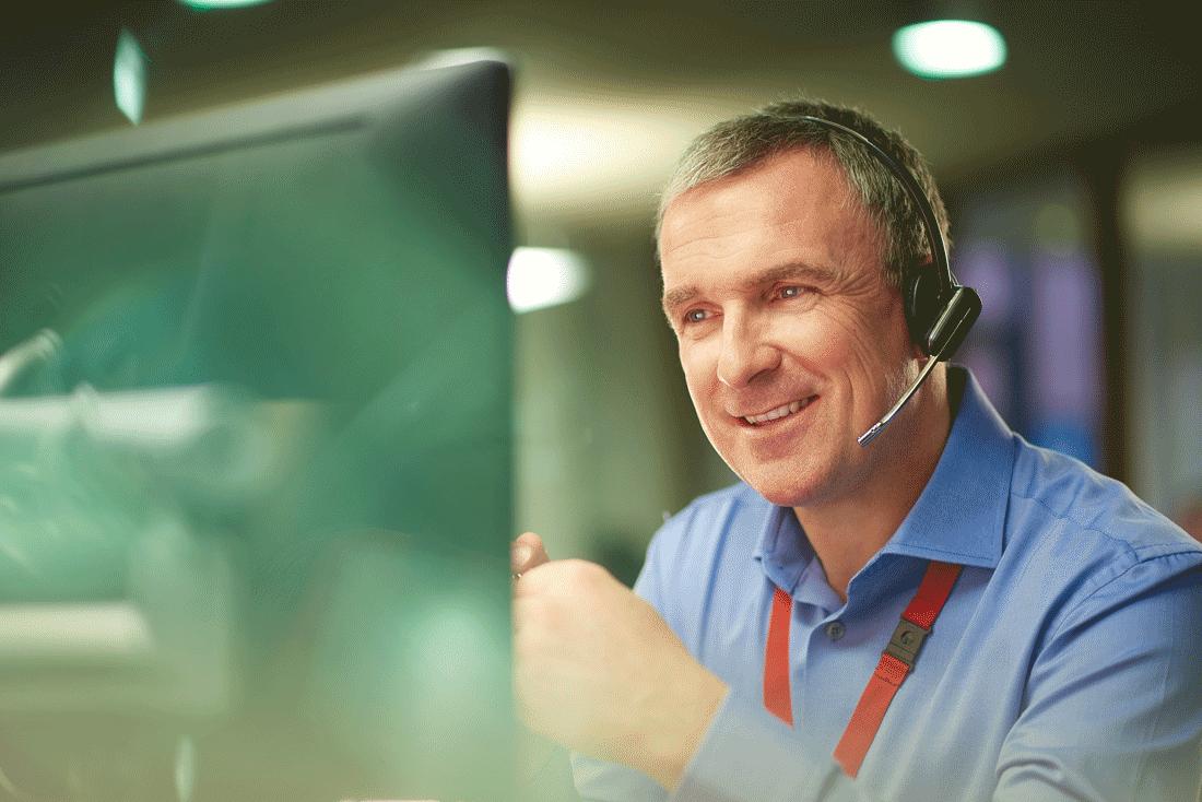 Facherrichter Kundensupport für Überwachungskameras